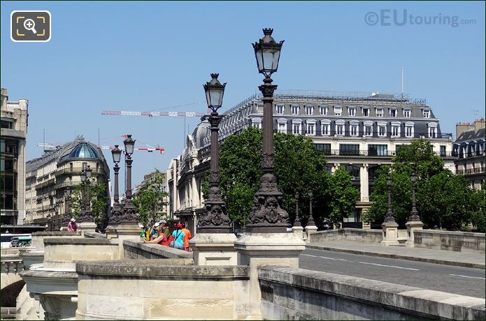 Lamp Posts On The Pont Neuf
