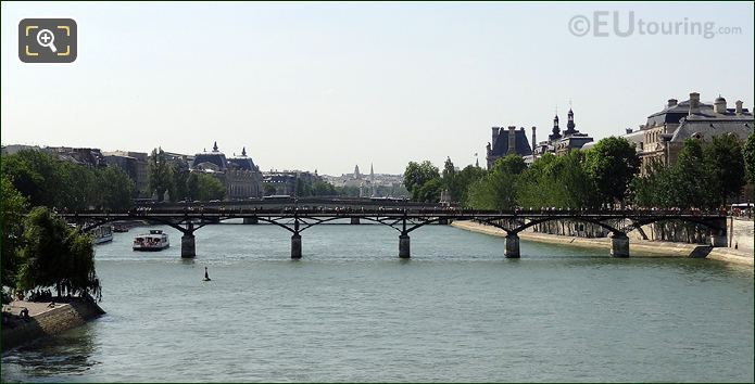 The River Seine And Tourist Attractions