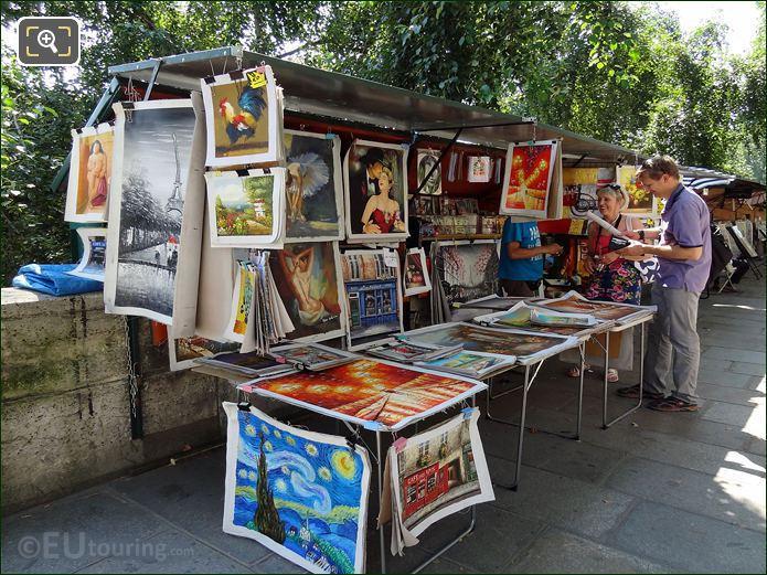 Image Of Market Stall Paris