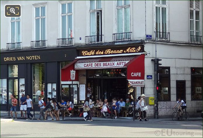 Cafe des Beaux Arts In Paris