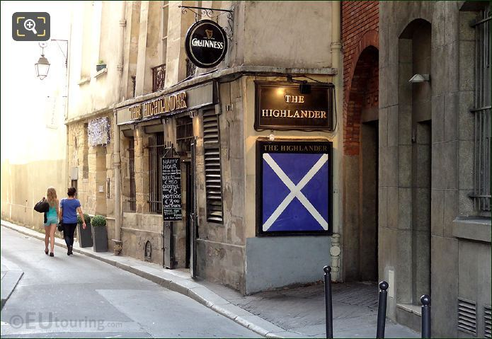 Highlander Pub In Paris