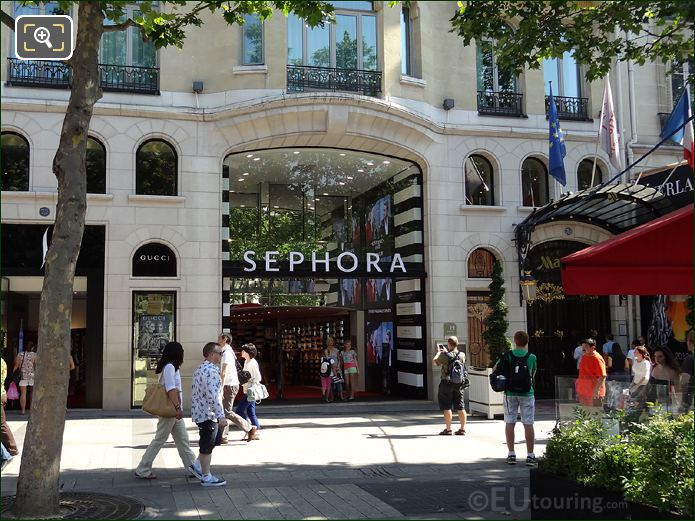 Sephora Store On Champs Elysees