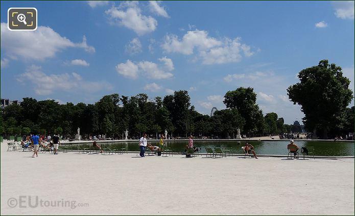 The Tuileries Gardens Paris
