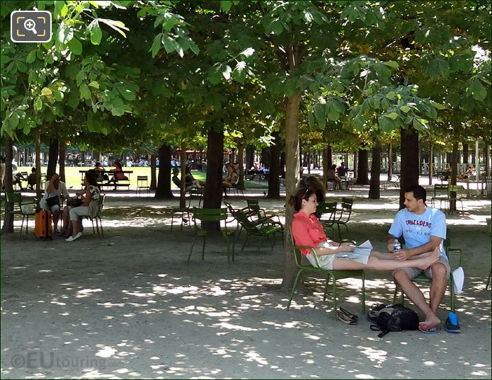 Tuileries Gardens Seating