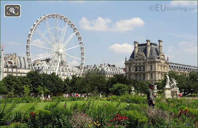 Ferris Wheel In Tuileries Gardens
