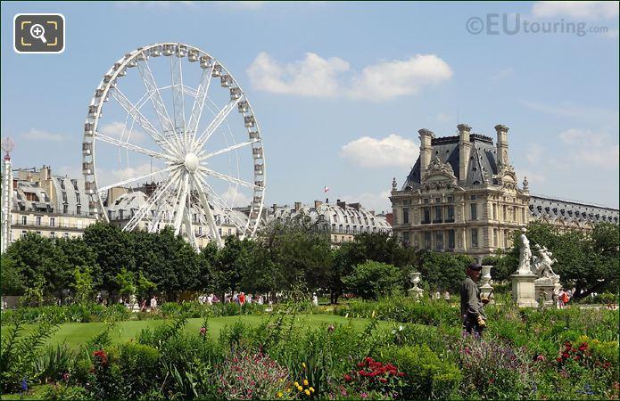 Ferris Wheel In Tuileries Gardens
