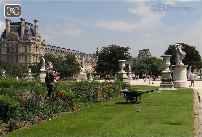 Gardener In Jardin des Tuileries