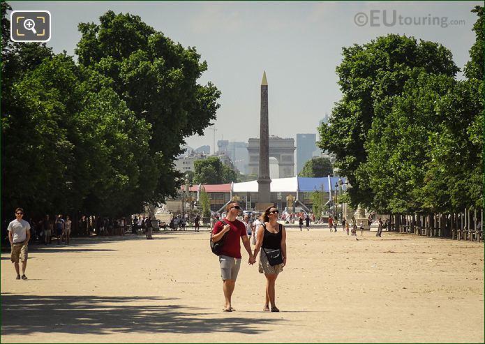 Tuileries Gardens Romantic Stroll