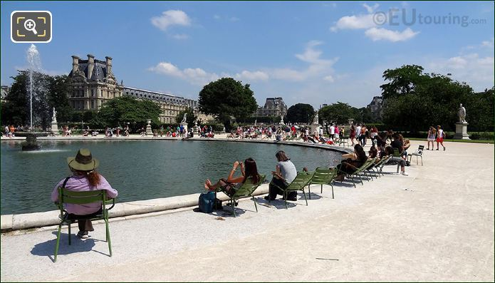 Water Fountain Tuileries