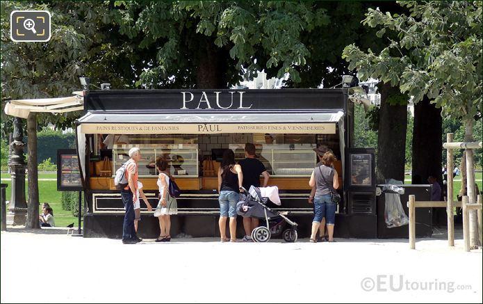 Kiosque Paul In Jardin du Carrousel