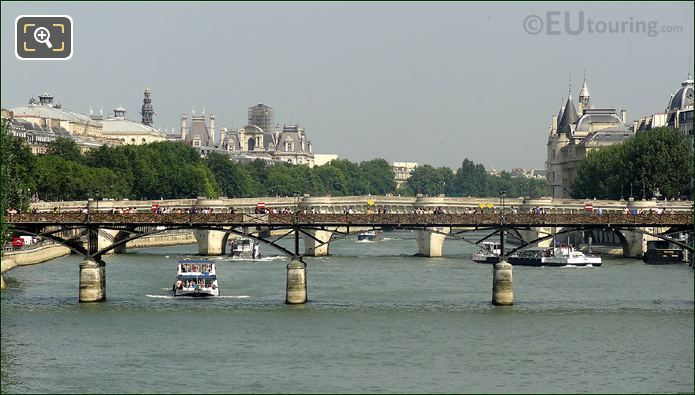 Pleasure Boats On The River Seine