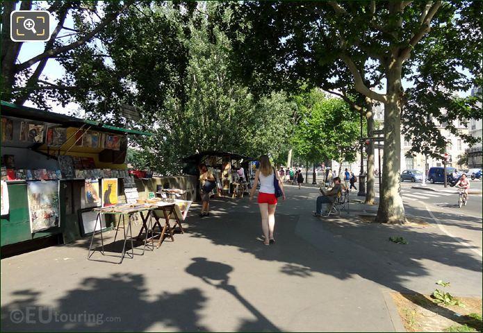 Bouquinistes Market Stalls