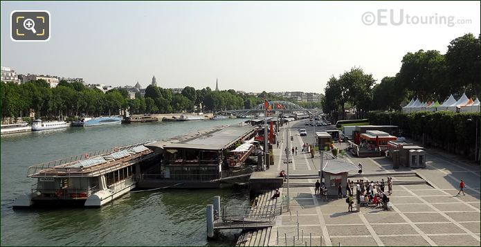 Port de la Bourdinnais In Paris