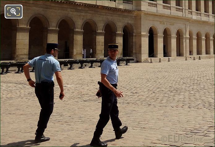 Military Police At Les Invalides