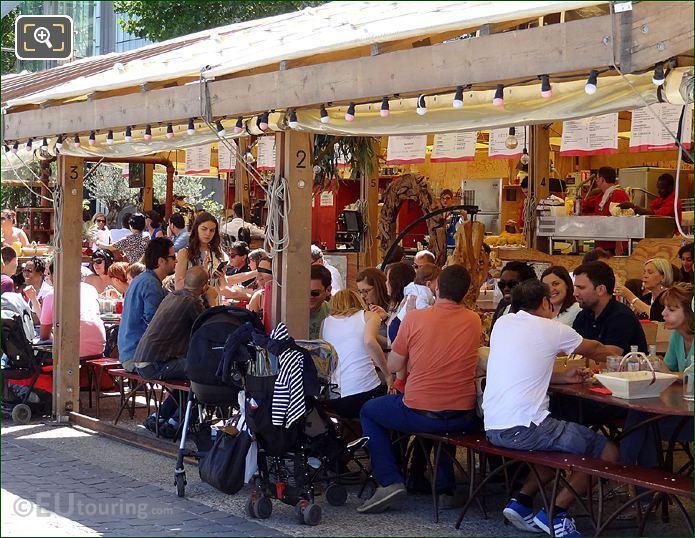 River Seine Al Fresco Dining