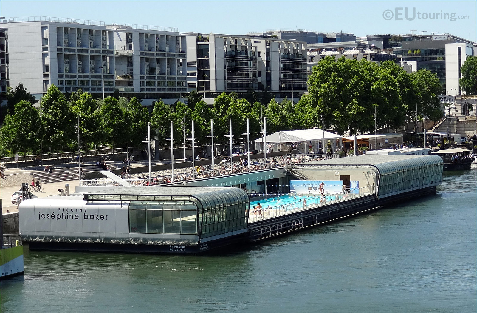 Hd photo of the piscine josephine baker swimming pool for Piscine josephine baker