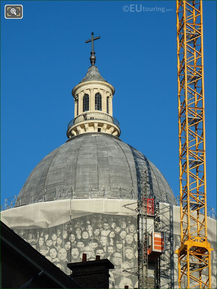 The Pantheon Dome Under Renovation