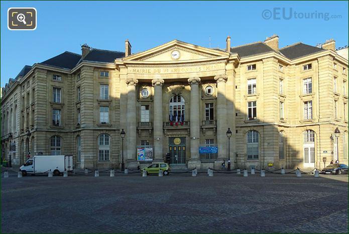 Mairie Du Ve Building At Place Du Pantheon Paris