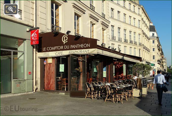 Le Comptoir Du Pantheon Restaurant Rue Soufflot Paris