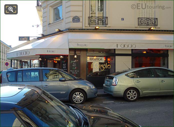 Italian Brasserie Il Gigolo Rue de la Huchette
