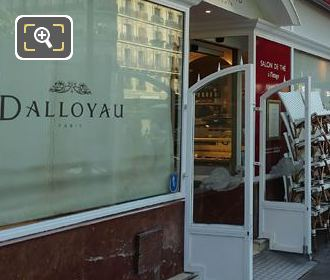 Dalloyau Front Terrace Place Edmond Rostand