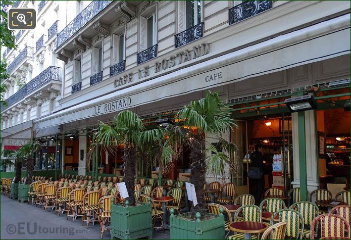 Cafe Le Rostand At Place Edmond Rostand