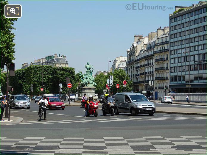 Avenue De l'Observatoire And Rue Notre Dame Des Champs Intersection