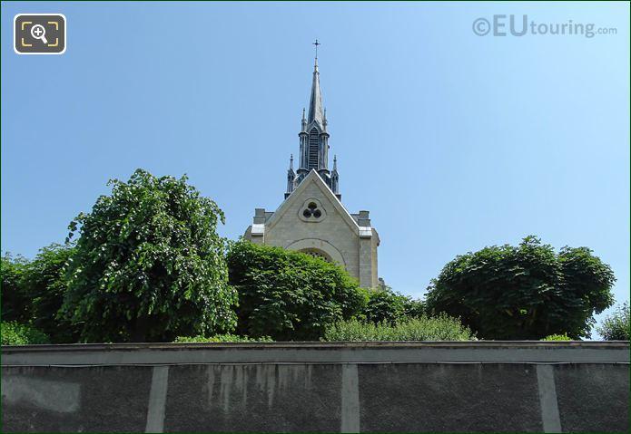 Church Spire On Congregation St Joseph Cluny