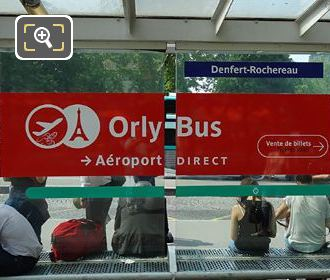 OrlyBus Stop Shelter With Seating And Map