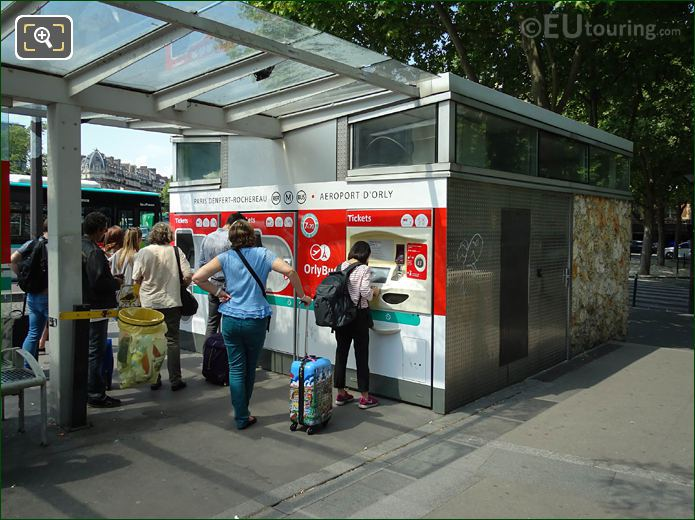 The Automatic Ticket Machines For OrlyBus