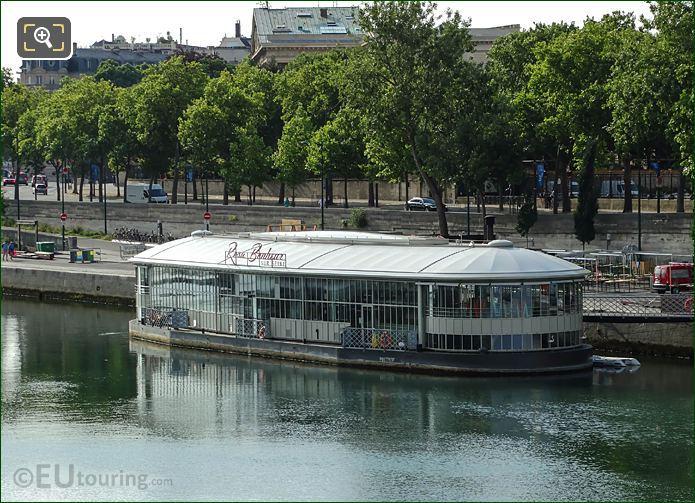 Floating Bar Rosa Bonheur Sur Seine