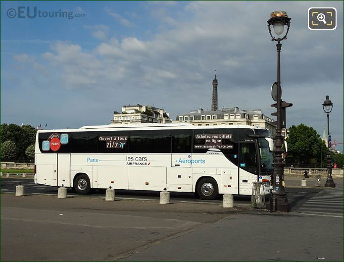 Les Cars Air France Coach On Avenue Du Marechal Gallieni