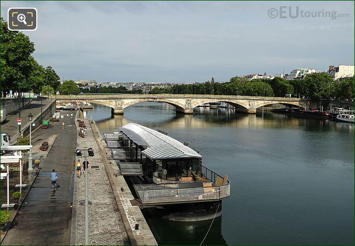 Bistrot Alexandre III And Pont Des Invalides