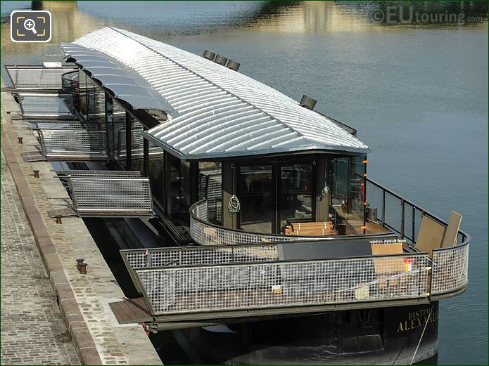 Bistrot Alexandre III Floating Restaurant Bar