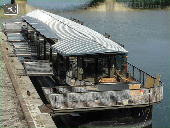 Bistrot Alexandre III Floating Restaurant Bar