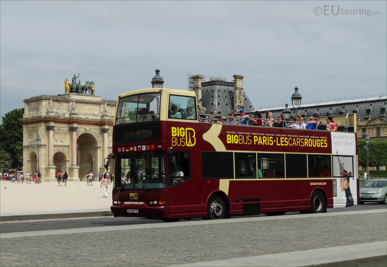 photos of big bus paris sightseeing tour bus page 220. Black Bedroom Furniture Sets. Home Design Ideas