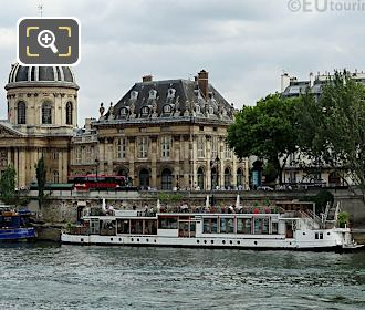 Paris Floating Restaurant La Balle Au Bond
