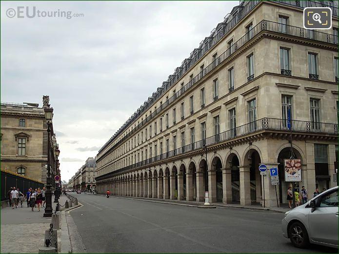 South Facade Louvre Des Antiquaires On Rue De Rivoli