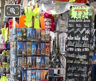 Souvenirs For Sale At Paris Rivoli Gift Shop