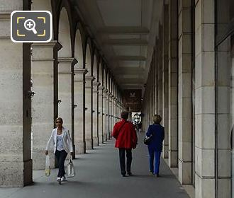 South Arcade And Walkway Of Louvre Des Antiquaires