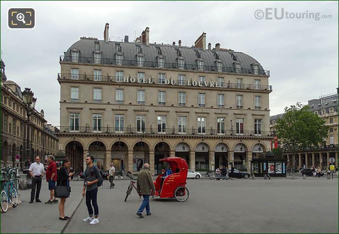Rickshaw Place Du Palais Royal Paris