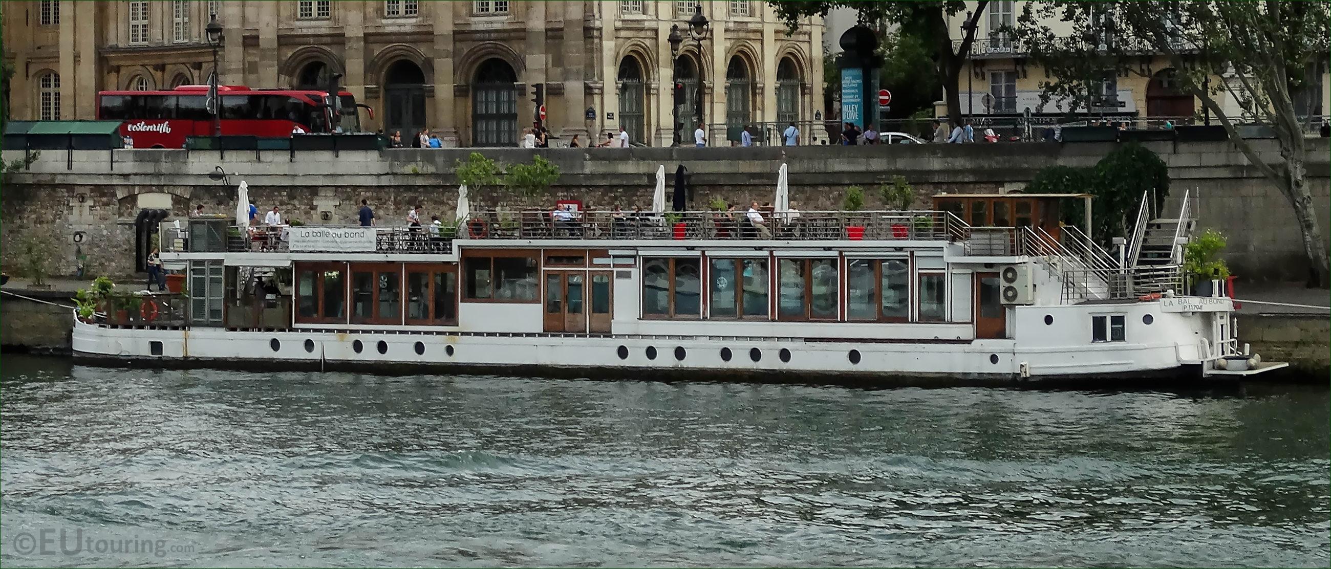 soirée café barge