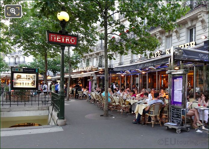 Photo Of Paris Metro System