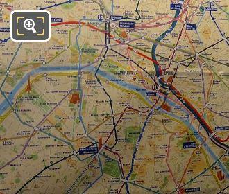 Paris Metro Map