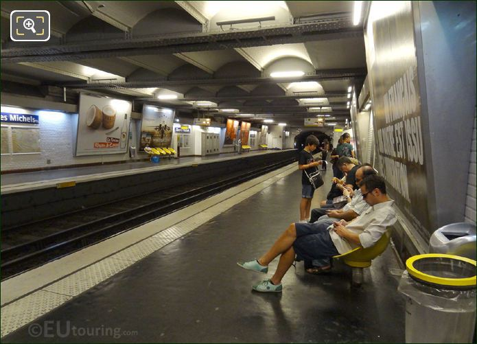 Photo Of Paris Metro System