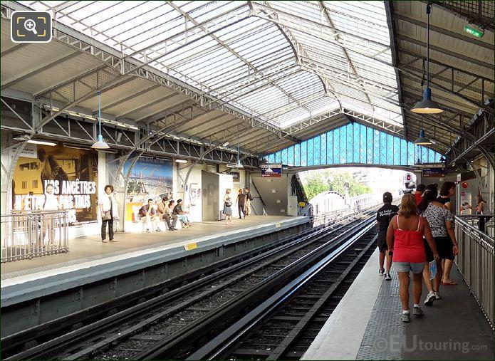 Paris Metro Stations Above Ground