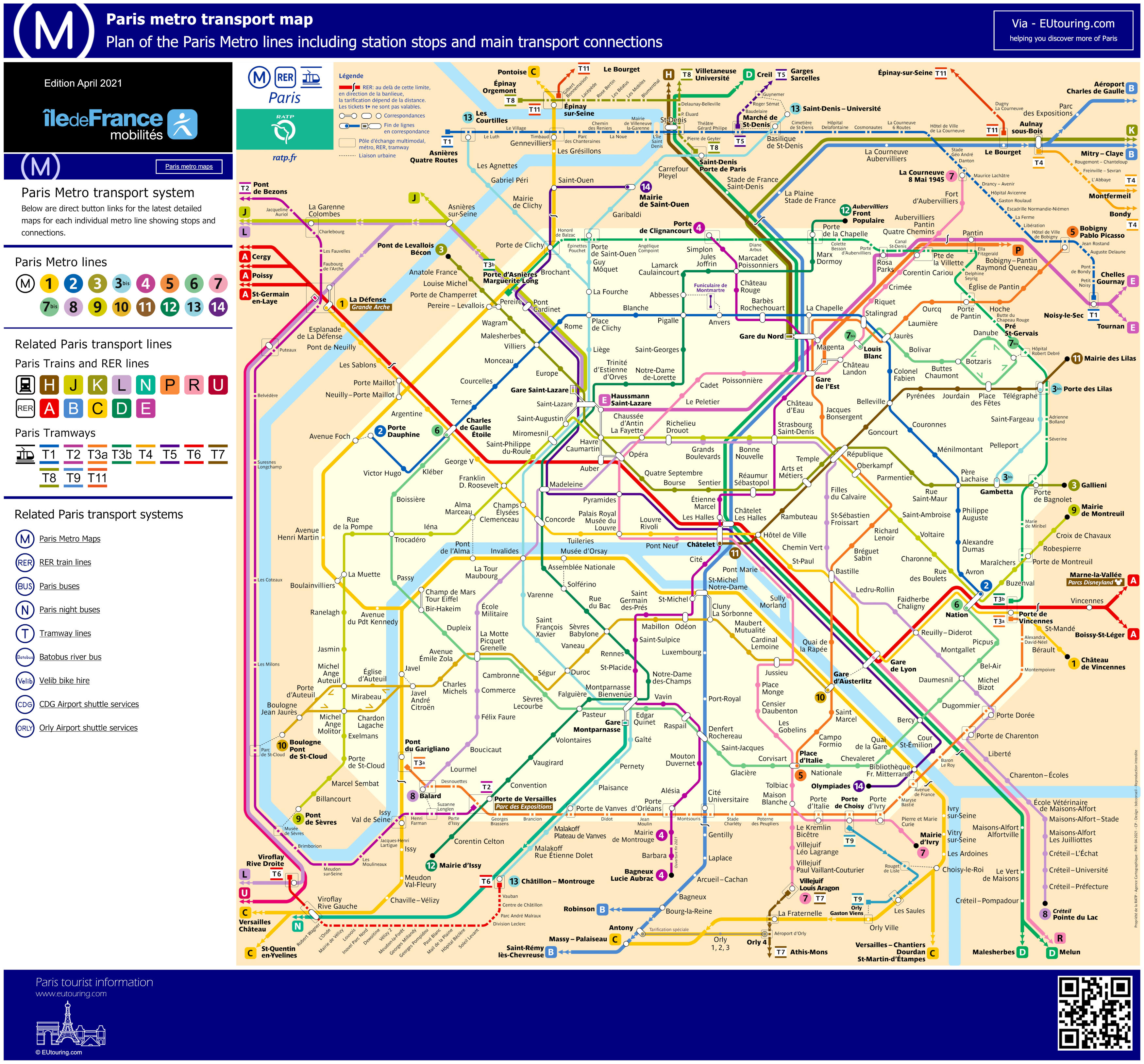 map metro paris - Photo