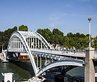 Passerelle Debilly Bridge
