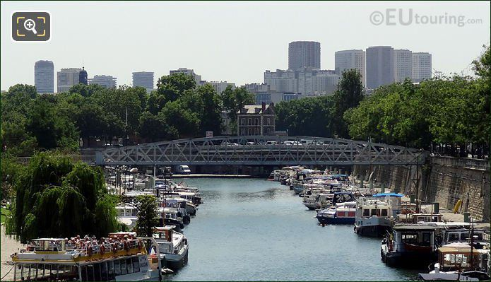 Passerelle Mornay Bridge