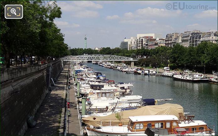 Passerelle Mornay At Port De l Arsenal